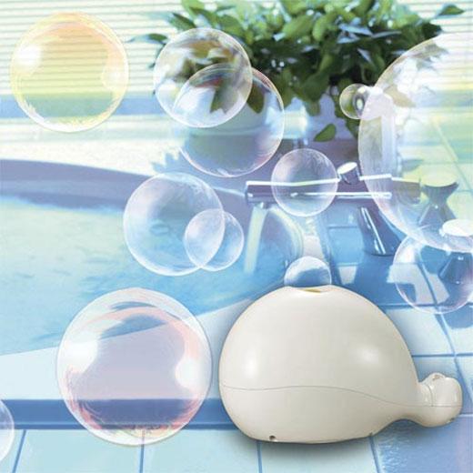 Happy Earth Apparel >> Happy Savon - Bath Time Bubble Blower - The Green Head
