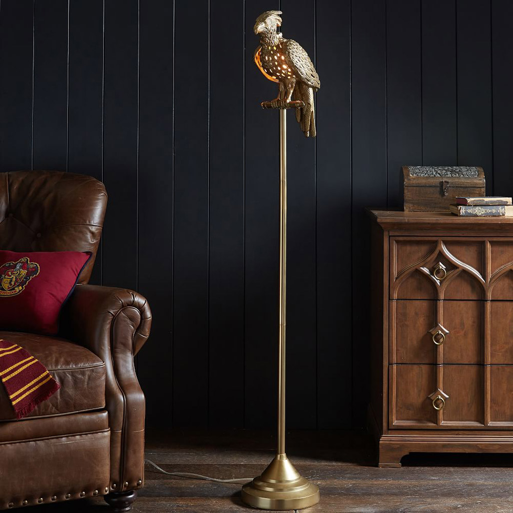 Pottery Barn Phoenix Lamp: Harry Potter Phoenix Floor Lamp
