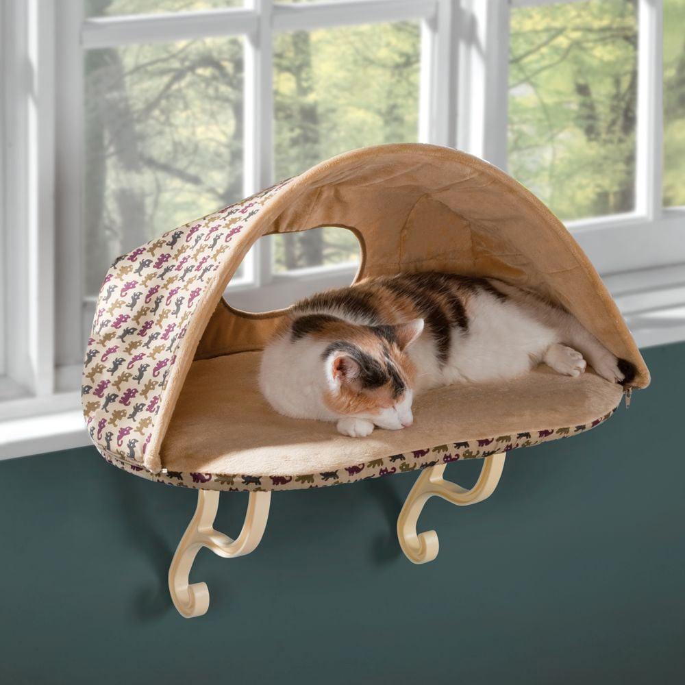 Heated Seat Cushion >> Heated Cat Window Seat - The Green Head