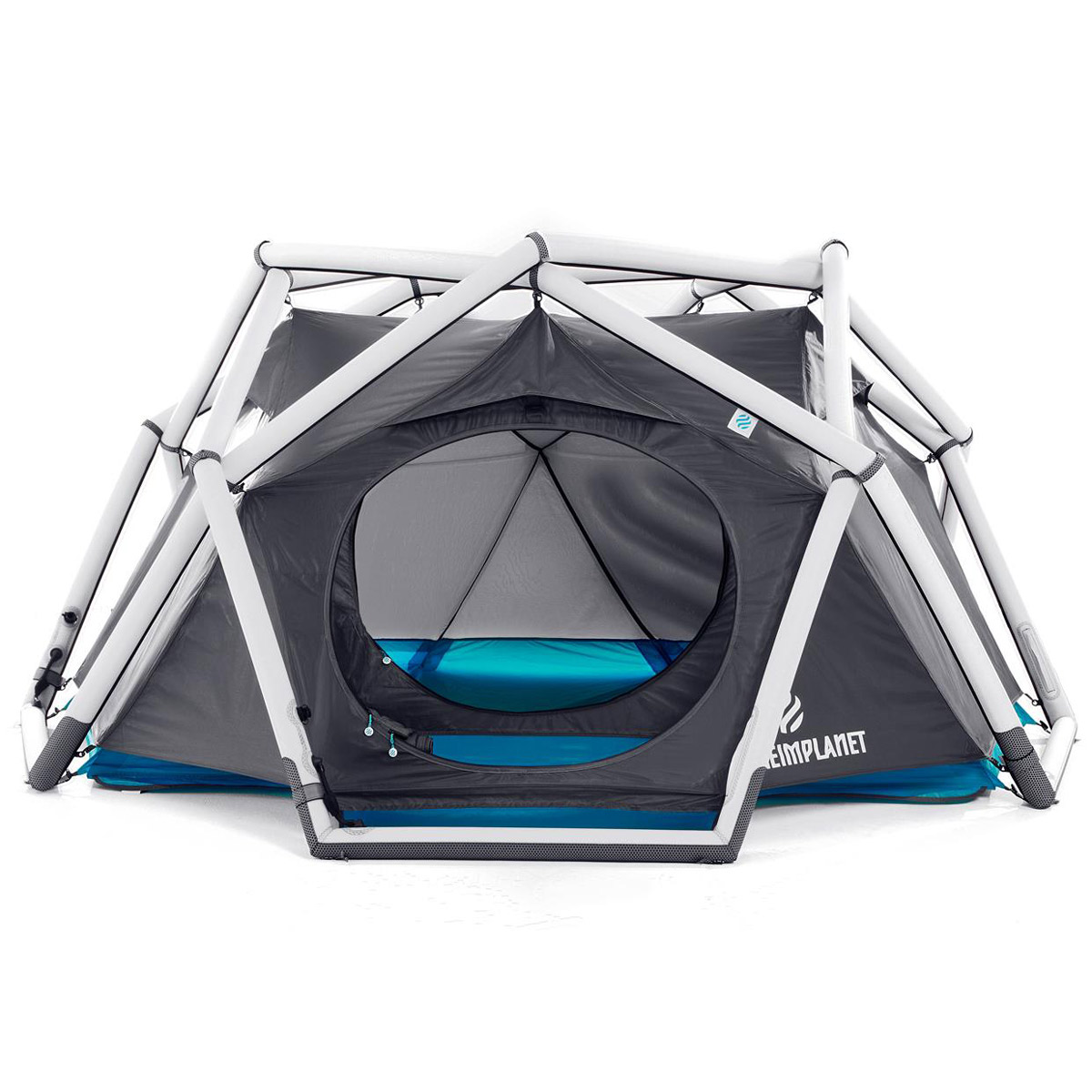 heimplanet cave inflatable geodesic dome tent the. Black Bedroom Furniture Sets. Home Design Ideas