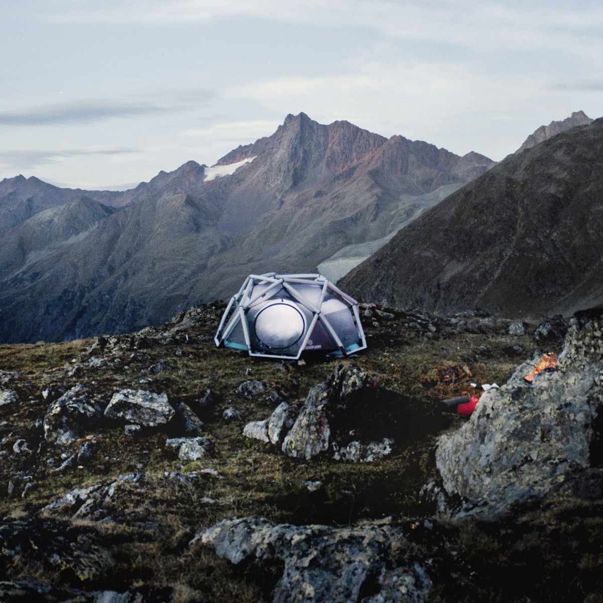 HeimPlanet Cave - Inflatable Geodesic Dome Tent & HeimPlanet Cave - Inflatable Geodesic Dome Tent - The Green Head