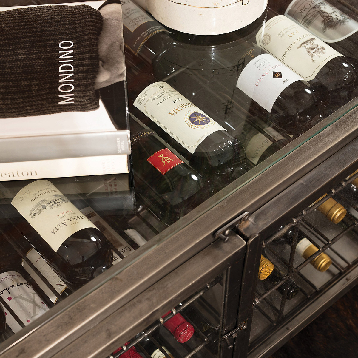 Hermitage Wine Storage Coffee Table