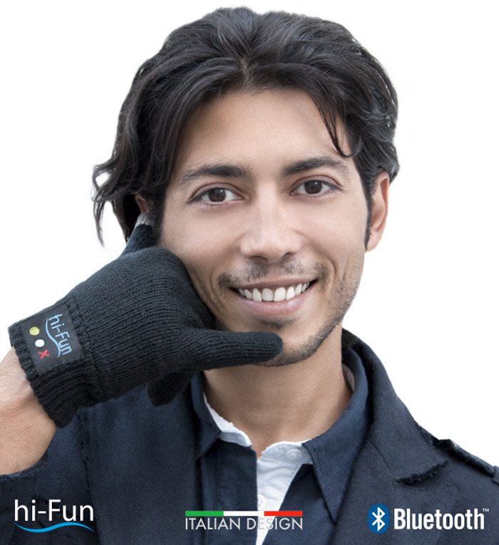 Hi From: Bluetooth Talking Glove Turns Your Hand Into A