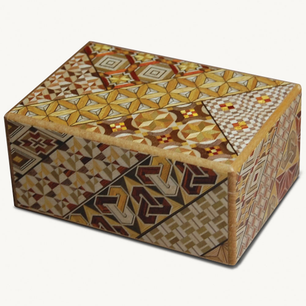 Himitsu Bako Japanese Puzzle Box The Green Head
