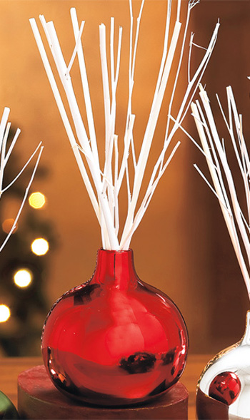 Holiday Scents Bamboo Reed Diffuser Ornaments The