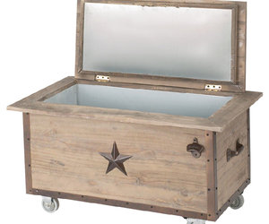 100 Quart Rustic Beverage Cooler