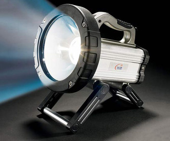 15 Million Candlepower Spotlight/Flashlight - World's Brightest Flashlight!