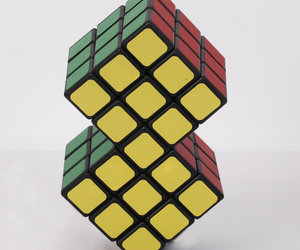 2-in-1 Conjoined Rubik's Magic Cube