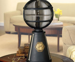 Fanimation Fargo - 360 Degree Globe Tabletop Fan!