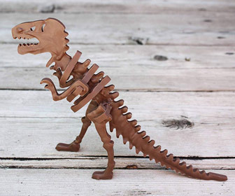 3D T-Rex Chocolate Dinosaur Mold