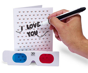 3D Valentine's Day Greeting Card