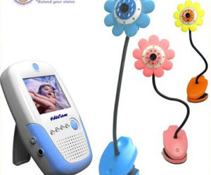 4UCAM Handheld Dancing Daisy Wireless Color Baby Monitor