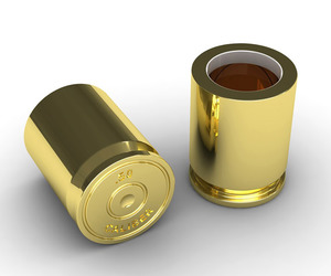 .50 Caliber Bullet Shot Glasses
