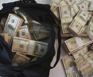 $500,000 Prop Movie Money Bundles in a Duffel Bag