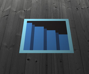 8-Bit Secret Passage Floor Decal