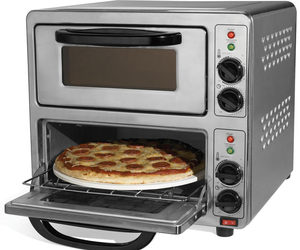90 Second Dual Pizza Oven