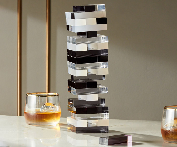 Acrylic Tumbling Tower