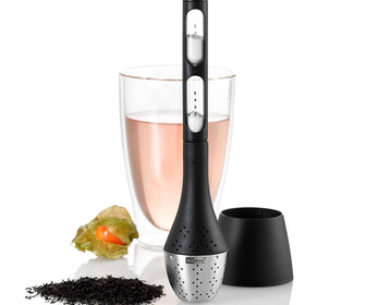 AdHoc Tea Egg - Tea Infuser With Rotatable Magnetic Hourglass Timer