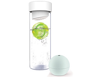 Ice Ball Flavor It Water Bottle