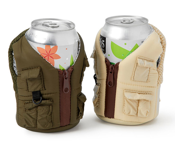 Adventure Cargo Vest Beer Koozies