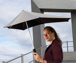 Amazing SENZ Original Umbrella - Withstands 70 MPH Winds!