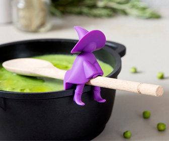 Agatha the Witch - Spoon Holder and Steam Releaser