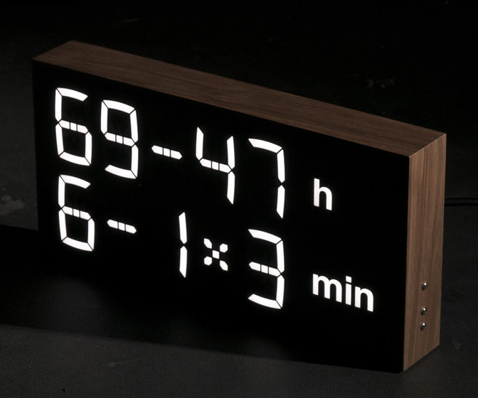 Albert Clock - Calculate Time With Mathematical Equations