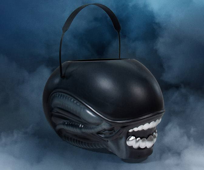 ALIEN SuperBucket - Xenomorph Halloween Candy Bucket