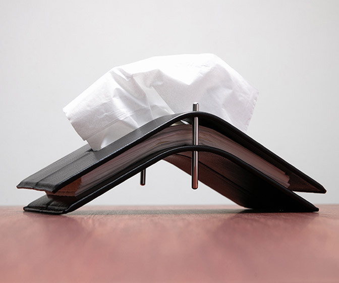 Aludo Kip - Minimalist Designer Tissue Holder From Japan