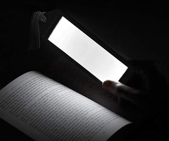 Aluratek LED Bookmark Reading Light
