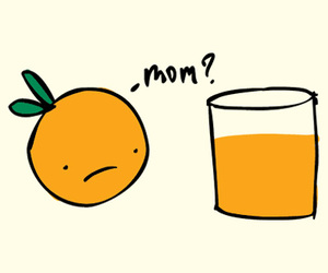 An Orange Meets His Citrusy Mother T-Shirt