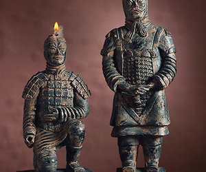 Ancient Warrior Candle Set