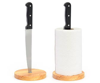 Angry Chef - Kitchen Knife Paper Towel Holder