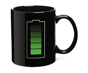 Animated Battery Coffee Mug
