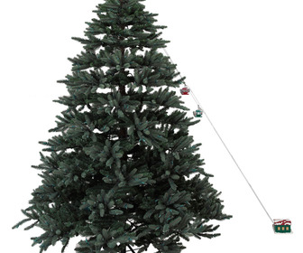 Mr. Christmas - Animated Christmas Tree Cable Cars