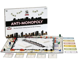 Anti-Monopoly Board Game - Free Enterprise Versus Monopoly