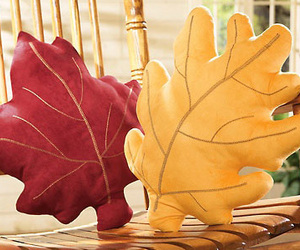 Autumn Leaves Throw Pillows