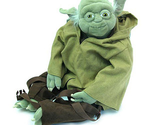 Awesome Yoda Plush Backpack