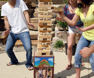Backyard Block Party - Massive Outdoor Wooden Block Game