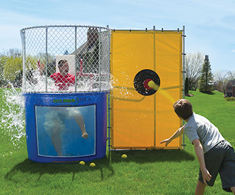 Backyard Dunk Tank