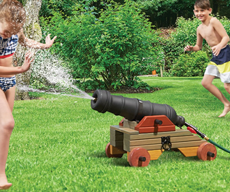 Backyard Water Cannon
