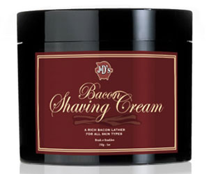 Bacon Shaving Cream