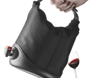Baggy Wine Coat - Box of Wine Tote