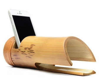 Bamboo iPhone Amplifier