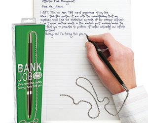 Bank Job Pen