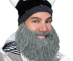 Barbarian Beard Head Winter Caps