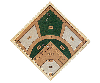 Baseball Stadium Dartboard