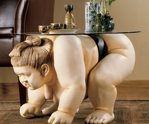 Basho The Sumo Wrestler Table