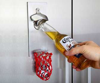 BasketBeer - Basketball Hoop Bottle Opener