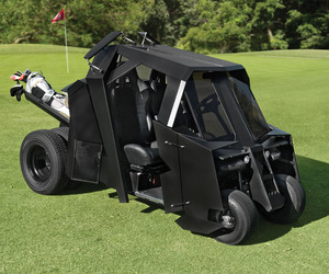 Batmobile Tumbler Golf Cart